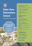 Groundbreaking Ceremony at Palm View Elementary